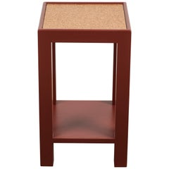 Narrow Side Table Square, Short by Lawson-Fenning