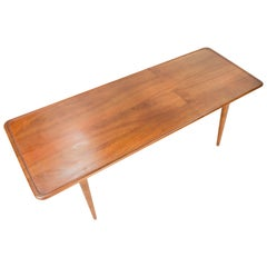 Hans Wegner's Curved Edge Coffee Table for Andreas Tuck of Denmark