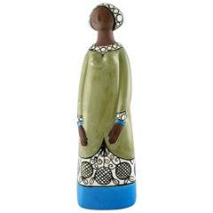 Rare Mari Simmulson Figure of Woman, Ceramics, Upsala-Ekeby