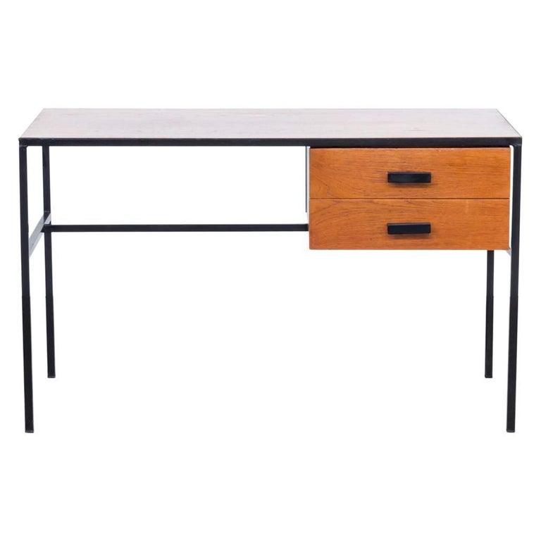 1960s Pierre Guariche Writing Desk for Meurop