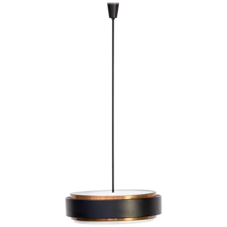 1960s Niek Hiemstra Model 8063 Hanging Lamp for Hiemstra Evolux