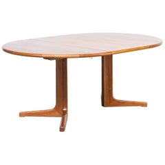 1960s Niels Otto Møller Dining Table for Gudme Møbelfabrik