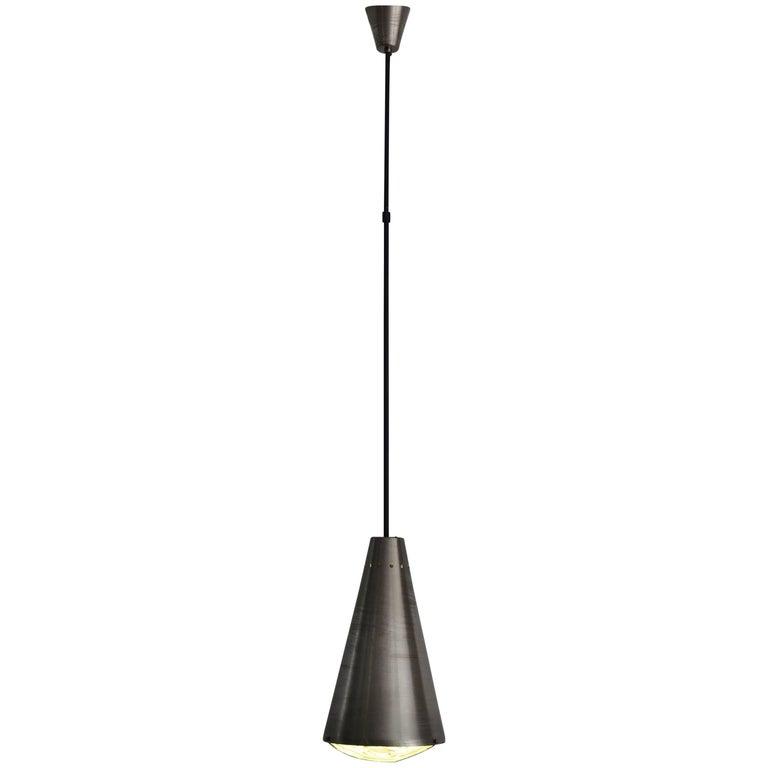 1950s Max Ingrand for Fontana Arte Mid-Century Modern Pendant Lamp Model, 1955