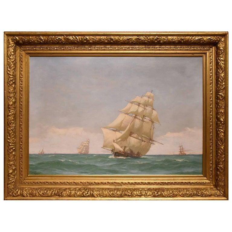 """""""Off Dover"""" by John Fraser"""