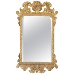 George II Style Giltwood Wall Mirror