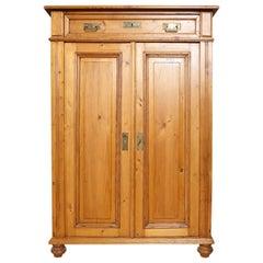 Tall Pine Cabinet, circa 1880