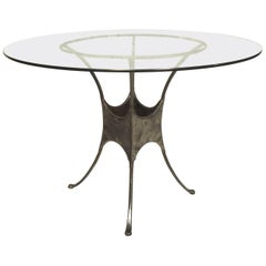 Stylish Metal Dining Table