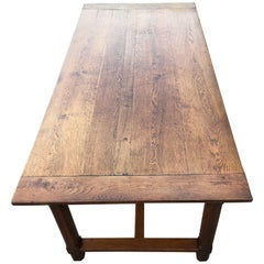 Farmhouse Table Oak