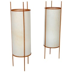Japanese Noguchi Style Table or Floor Lamps