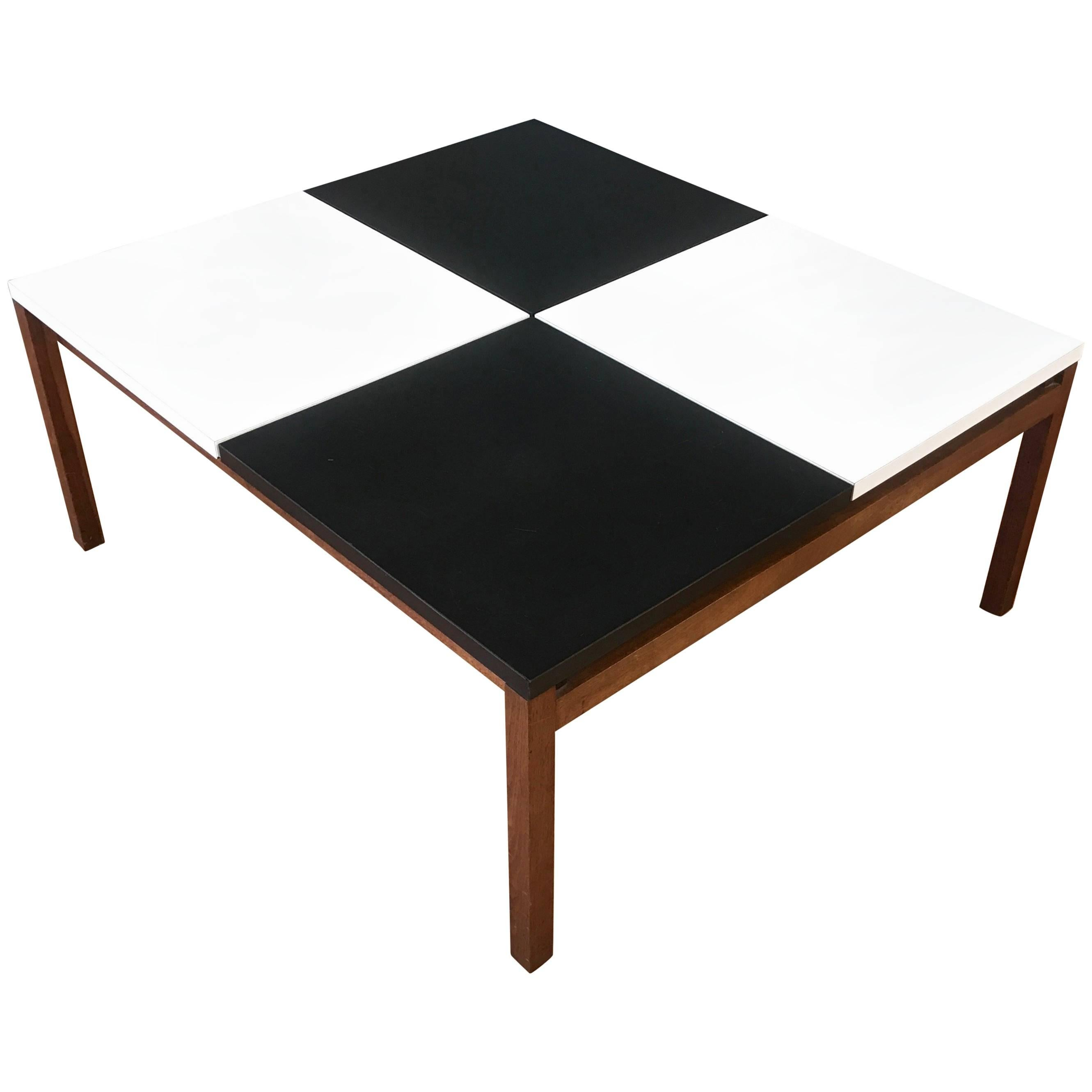 Early Lewis Butler For Knoll Associates Checkerboard Coffee Table For Sale  At 1stdibs