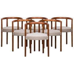 Ole Gjerløv-Knudsen Dining Chairs Model 195 by France & Son in Denmark