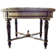 20th Century Louis XV Style Round Table, 1962