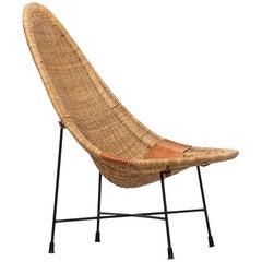 Kerstin Hörlin-Holmquist Stora Kraal Easy Chair by Nordiska Kompaniet in Sweden