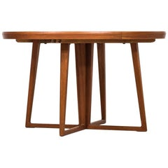 Helge Sibast Dining Table in Teak by Sibast Møbler in Denmark