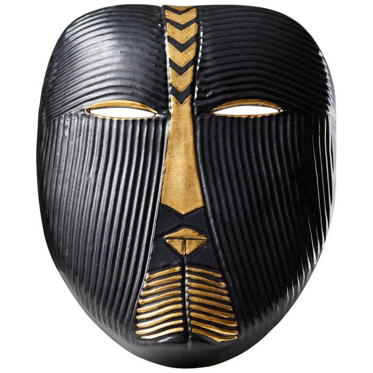 Mask Designed by Lisa Larsson, Sweden, 1950s For Sale