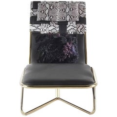 Roberto Cavalli Papeete Outdoor Chaise Longue Chair
