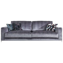 Roberto Cavalli Jungle Collection Manhattan Three-Seat Sofa