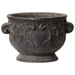 Urn / Planter 'Barockurnan' in Cast Iron by Näfveqvarns Bruk in Sweden