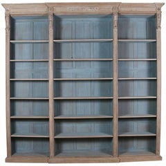 English Oak Library Bookcase
