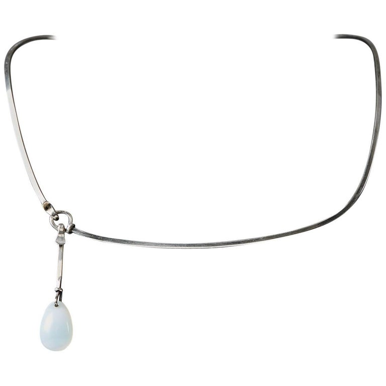Necklace Designed by Vivianna Torun Bülow-Hübe, France, 1960s For Sale