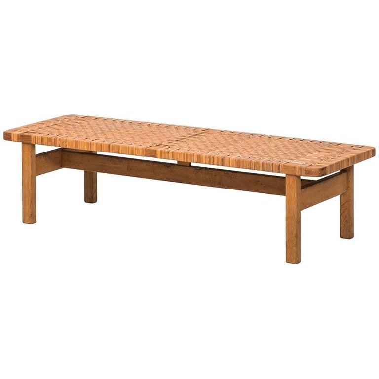 Børge Mogensen Side Table by Fredericia Stolefabrik in Denmark