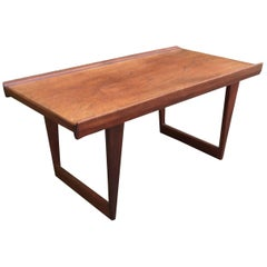 Peter Lovig Nielsen Danish Modern Teak Coffee Table