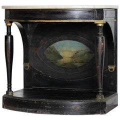 Early 19th Century Painted Danish Console Table