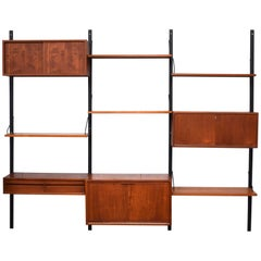 Poul Cadovius Royal Modular Wall Unit in Teak, 1950s