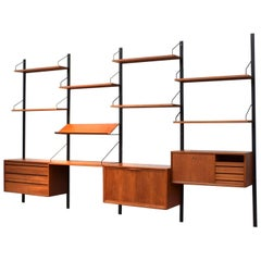 Cadovius Royal Modular Wall Unit in Teak, 1950s