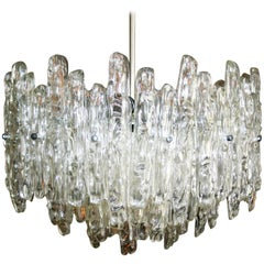 Lucite Chandelier Designed by Kalmar