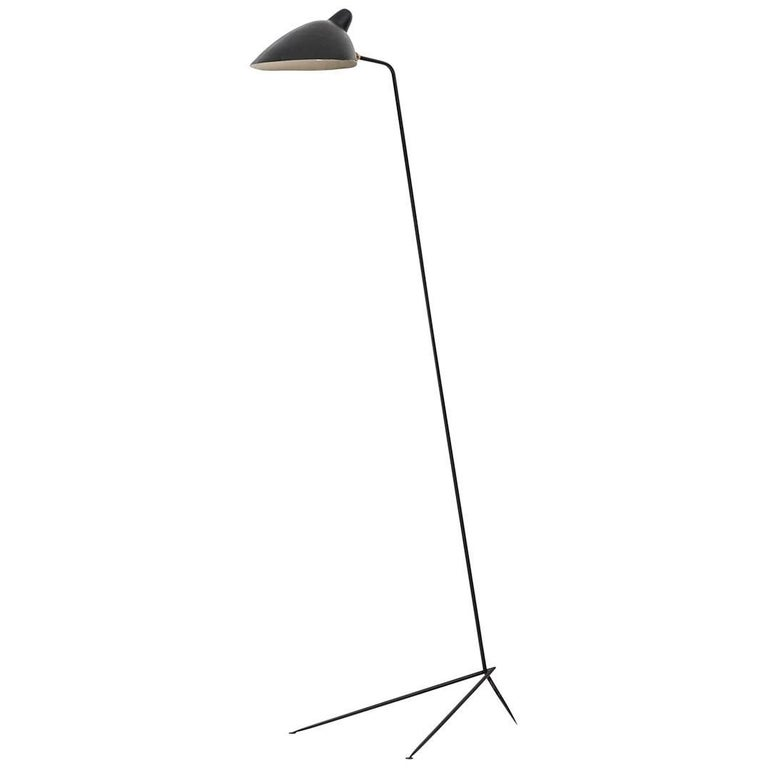 Serge Mouille Floor Lamp by Ateliers Serge Mouille in France For Sale