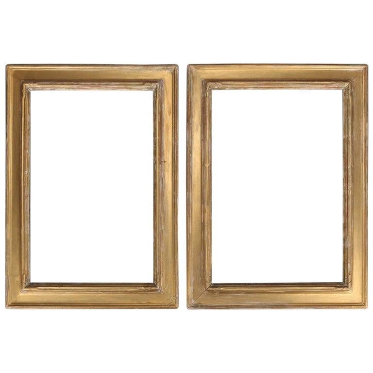 Arts and Crafts Newcomb-Macklin Matching Set Giltwood Art Frames ...