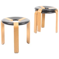 Set of Three Stools by Rud Thygesen