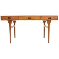 Nanna Ditzel Teak Desk by Søren Willadsen Denmark, 1958