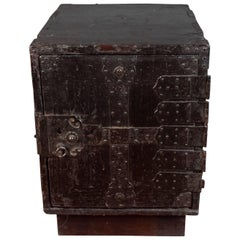 19th Century Japanese Safe, Meiji Period