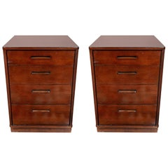Pair of Edward Wormley for Dunbar Nightstands