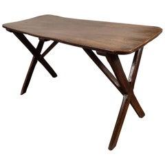 Oak Trestle Table, Early 19th Century