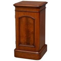 Victorian Bedside Cabinet or Pedestal