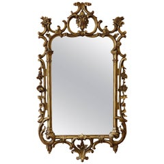 George III Chippendale Gilt Mirror