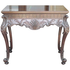 19th Century Irish Chippendale Console