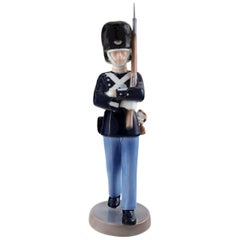Rare Bing & Grondahl, Figure of Porcelain in the Form of a Guardsman No. 2342.