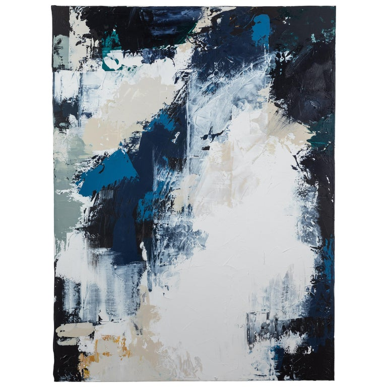Abstract Painting on Canvas #15 by Anna Ullman for Lawson-Fenning For Sale
