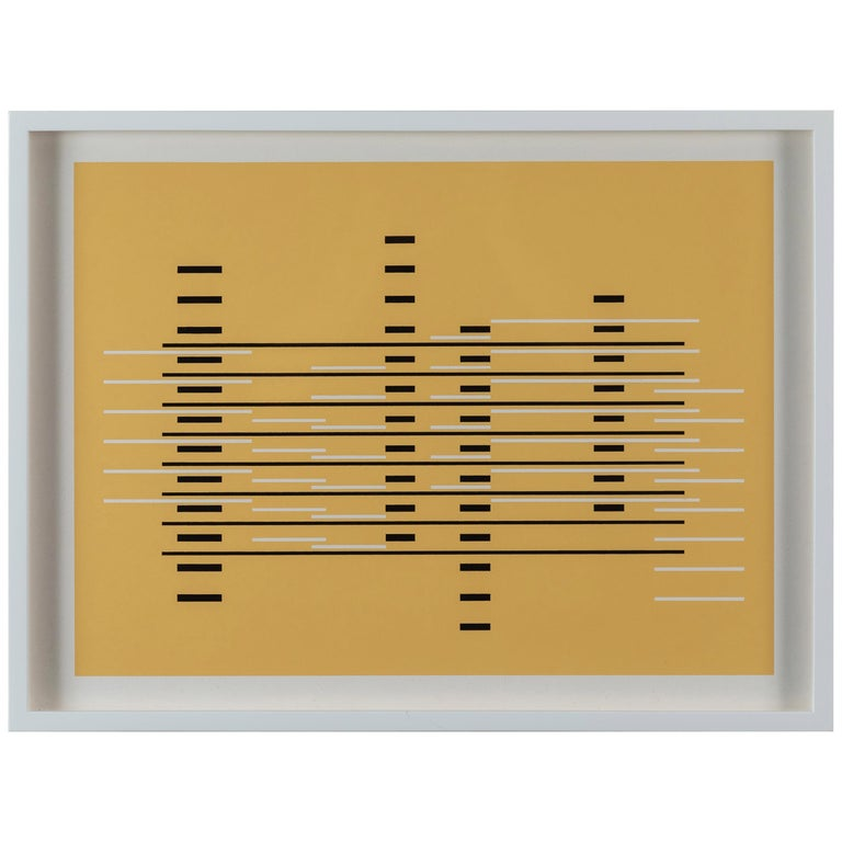 Silkscreen Print from Formulation Articulation by Josef Albers