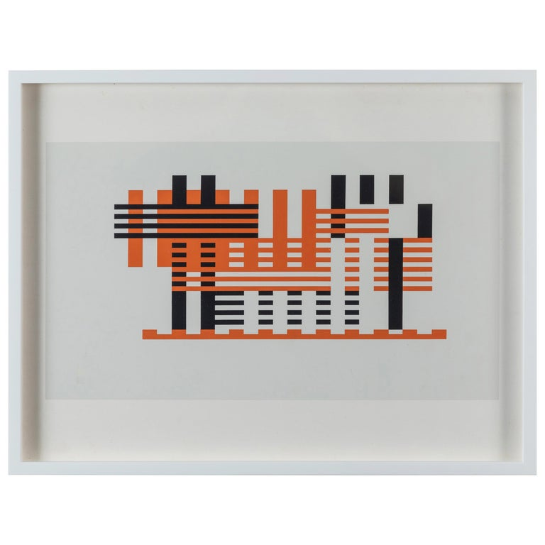 Silkscreen Print from Formulation Articulation by Josef Albers For Sale