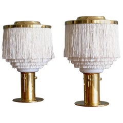 Pair of Hans-Agne Jakobsson Table Lamps Model B-145, 1960s