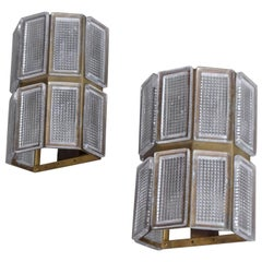 Pair of Swedish Wall Lamps, 1960s