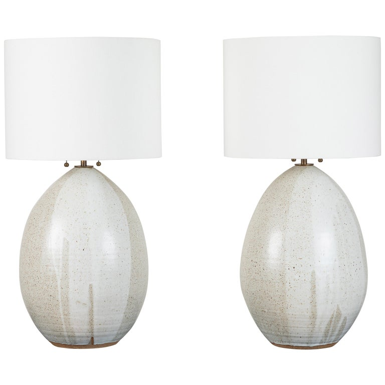 Pair of Extra Large Pod Lamps by Victoria Morris for Lawson-Fenning