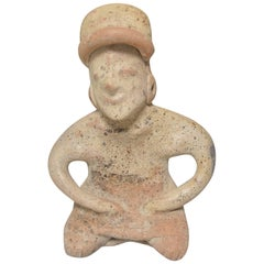 Pre Columbian Ancient Mexico Nayarit Figure, BC 200 – AD 200