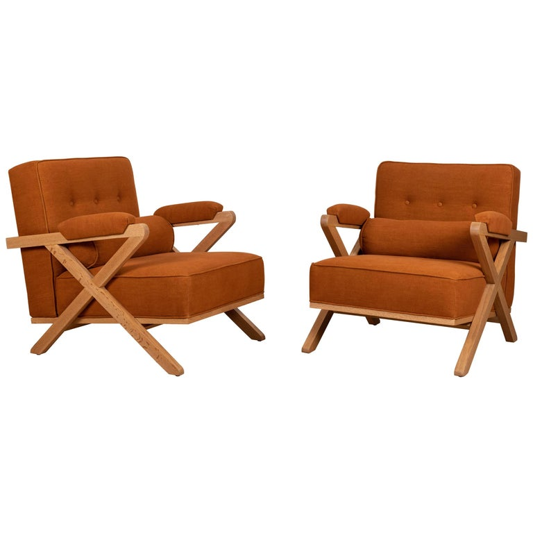 Pair of Dillon Chairs by Lawson-Fenning