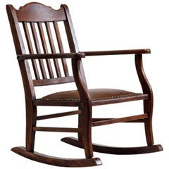 American Craftsman Child's Rocking Chair